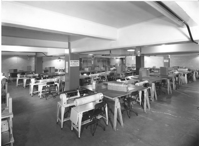 Photograph of Flattener Equipment, Work Projects Administration (WPA) Project