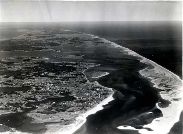 Aerial View Over Chatham Massachusetts