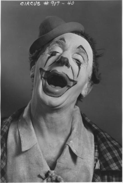Photograph of Rocco, Federal Theatre Circus Clown