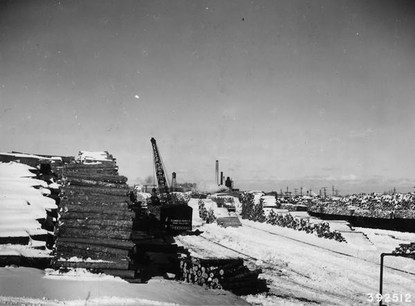 Photograph of Stock of Pulpwood