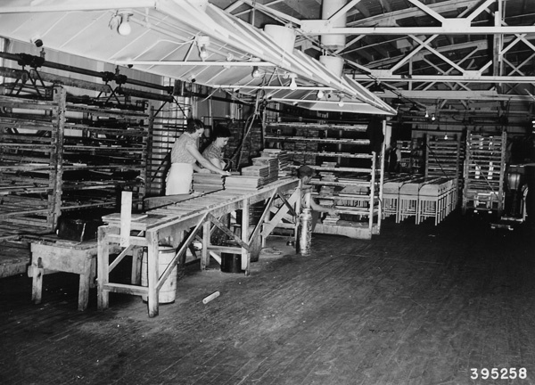 Photograph of Part of the Finishing Room