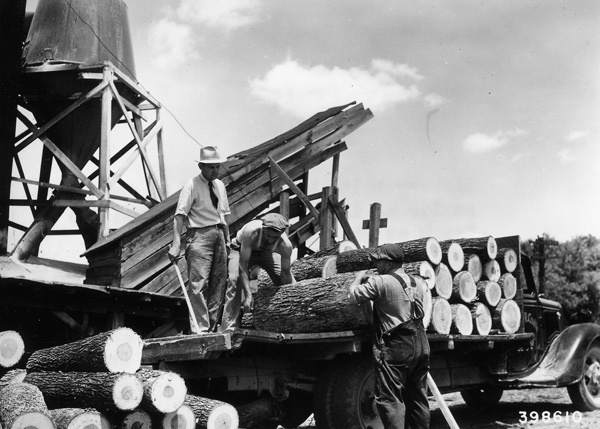 Photograph of Hickory Bolts Being Scaled