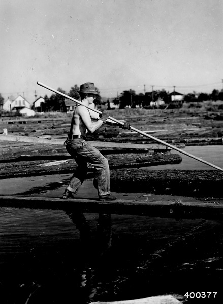Photograph of Mill Pond Worker Charles Harrington