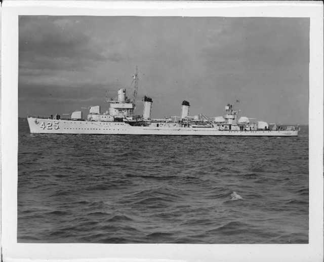 DD-425 USS Madison
