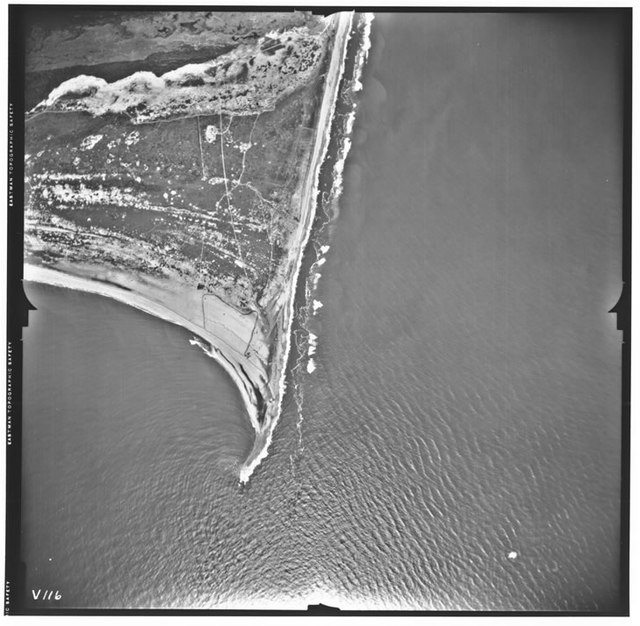 Aerial Photograph of Cape Hatteras, North Carolina