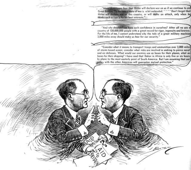 The historic debate of Joe Kennedy v. Joe Kennedy