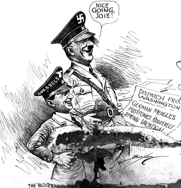 The Blitzkrieg comes to America