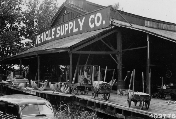 Photograph of Vehicle Supply Company in Cairo, Illinois