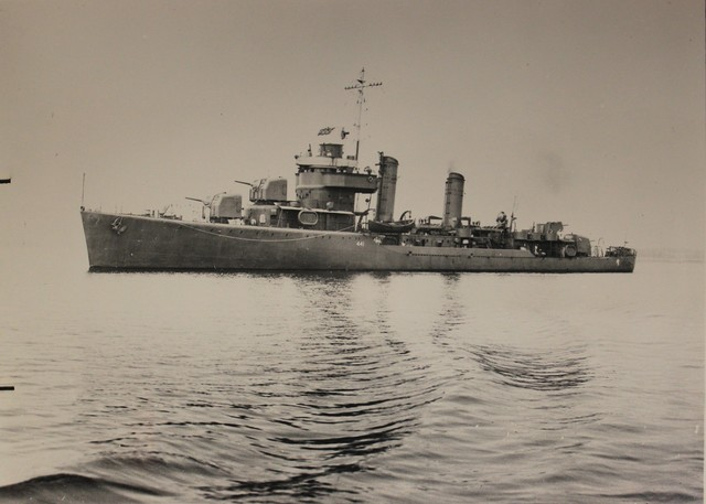 USS Wilkes in the Boston Navy Yard