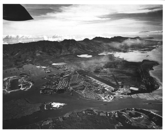 Photograph of Pearl Harbor