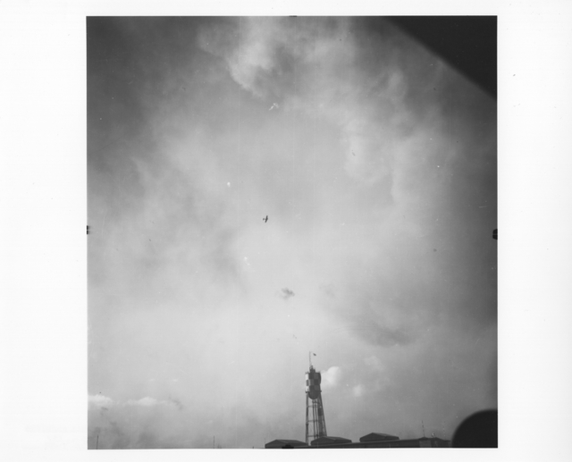 Photograph of Japanese Planes Attacking NAS Pearl Harbor