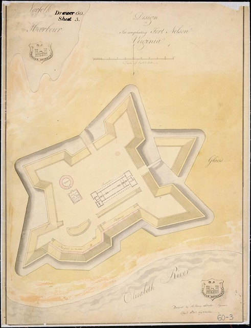 Design for Completing Fort Nelson, Virginia