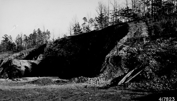 Photograph of Open Pit Iron Mine