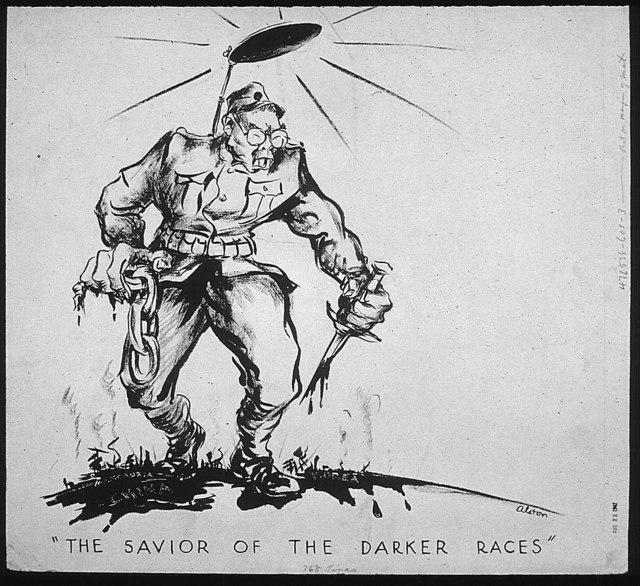 """THE SAVIOR OF THE DARKER RACES"""