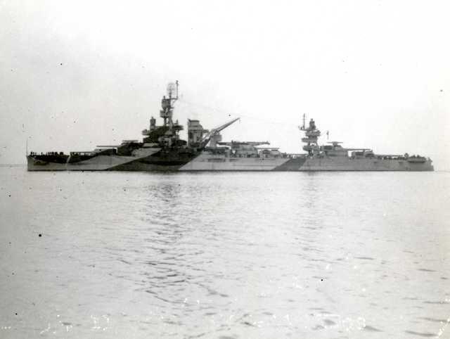 BB-33 USS Arkansas After Overhaul