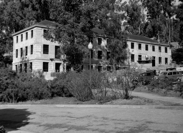 Medical Physics Building (Donner Lab), taken February 9, 1942. Principal Investigator/Project: Analog Conversion Project [Photographer: Donald Cooksey]