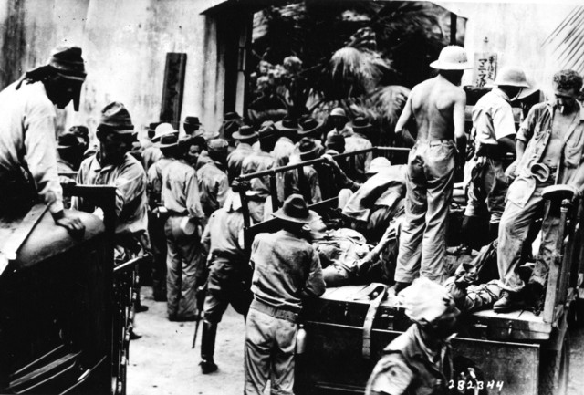 American and Filipino Prisoners, Captured at Corregidor
