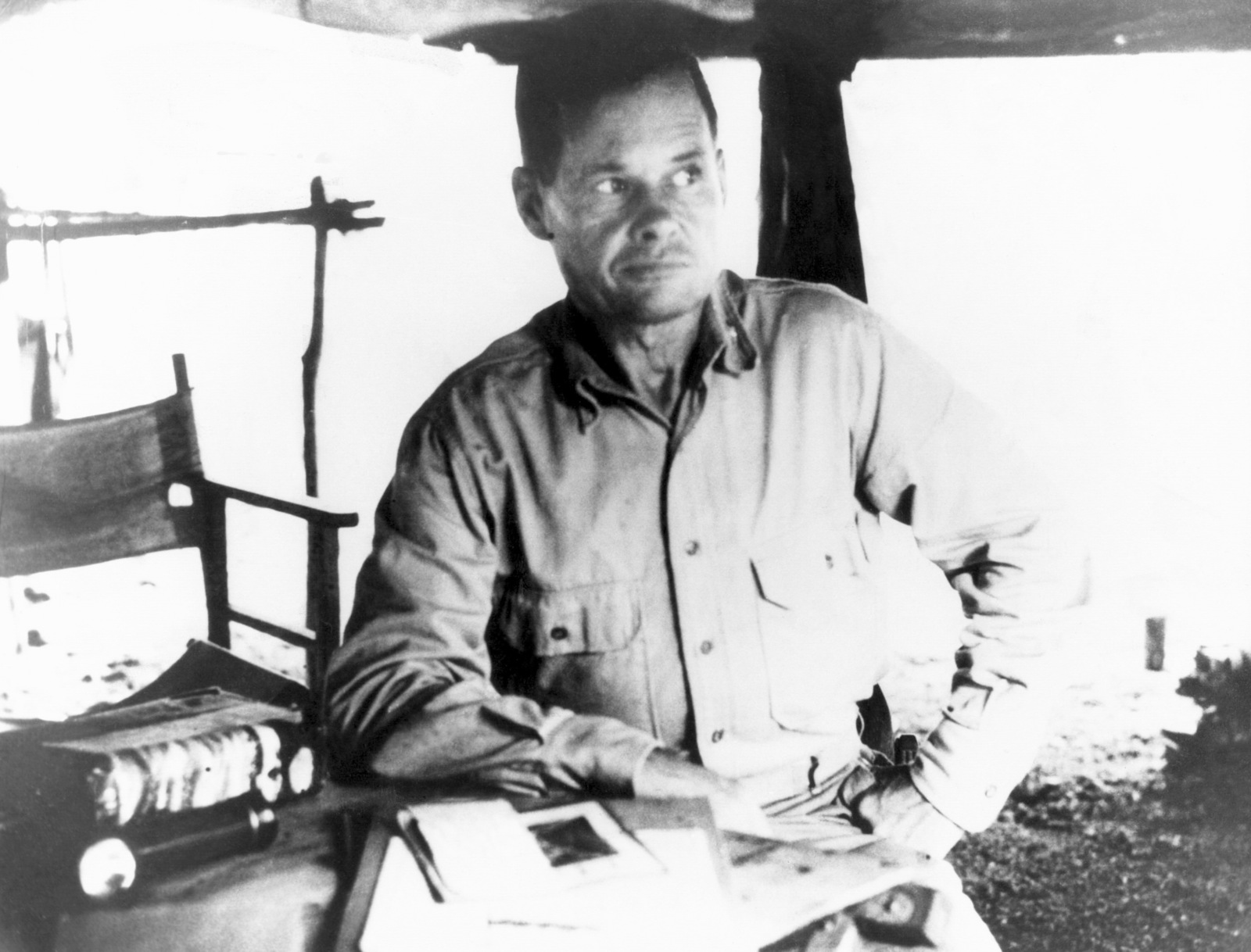 "Lieutenant Colonel Lewis B. ""Chesty"" Puller, USMC, Commanding Officer of 1ST Battalion, 7th Marine Regiment at Guadalcanal (1942)"