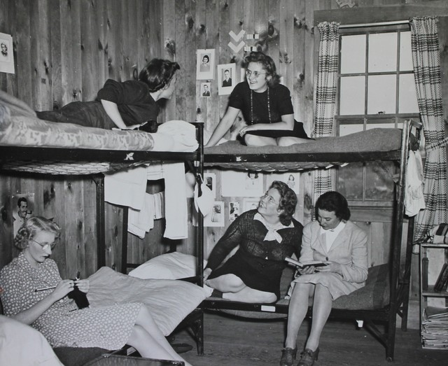 A National Youth Administration Dormitory