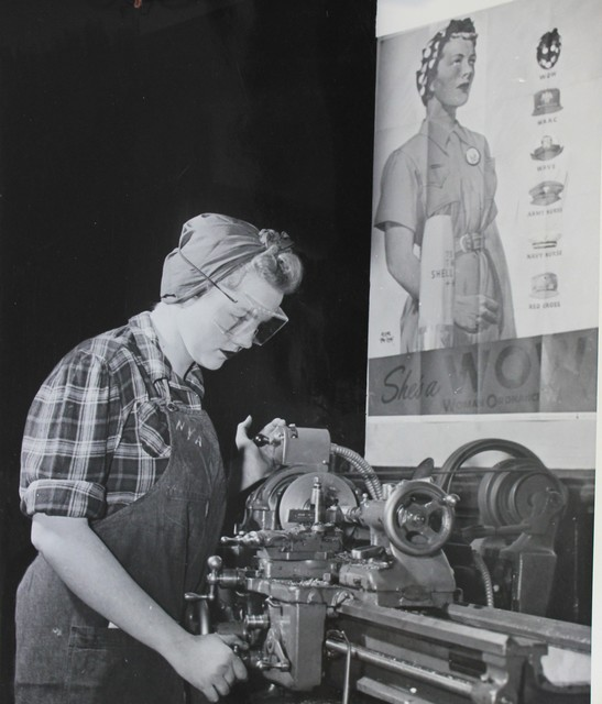 A Young Woman Ordnance Worker