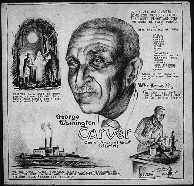 GEORGE WASHINGTON CARVER - ONE OF AMERICA'S GREAT SCIENTISTS