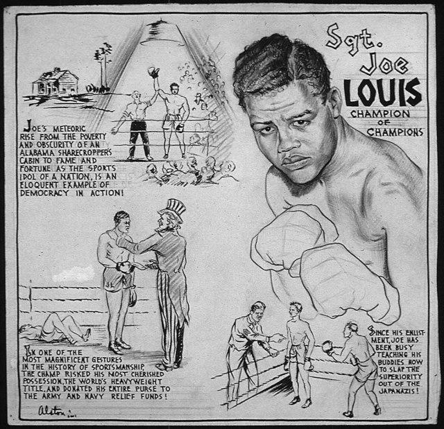 SGT. JOE LOUIS - CHAMPION OF CHAMPIONS