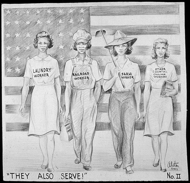 """""""THEY ALSO SERVE!"""" No.II"""