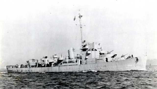 DE-6 USS Wyffels