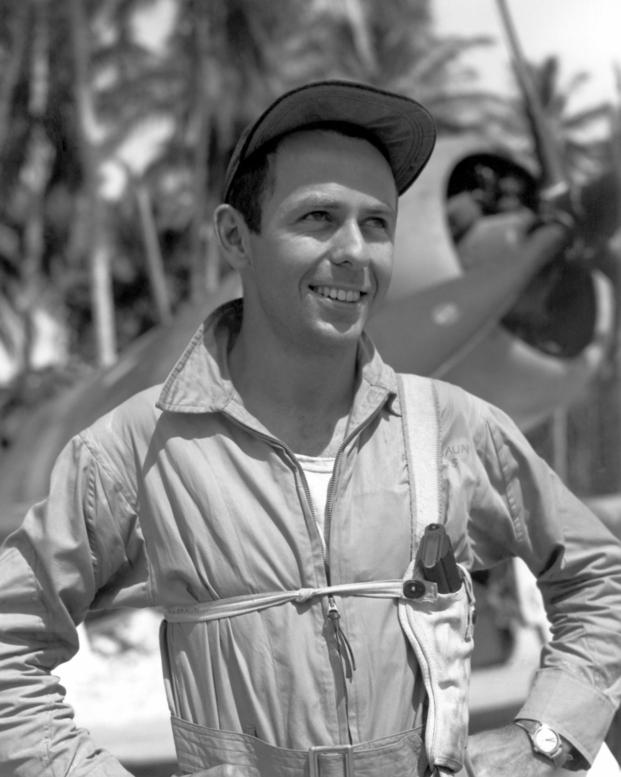 United States Marine Corps Captain (CPT) Richard L. Braun, from Santa Monica, California.  Official Portrait