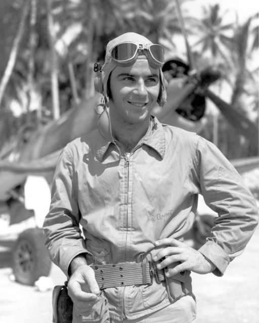 United States Marine Corps First Lieutenant (1LT) A. Roger Conant. Official Portrait