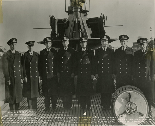 Commissioned Officers of the USS Bang