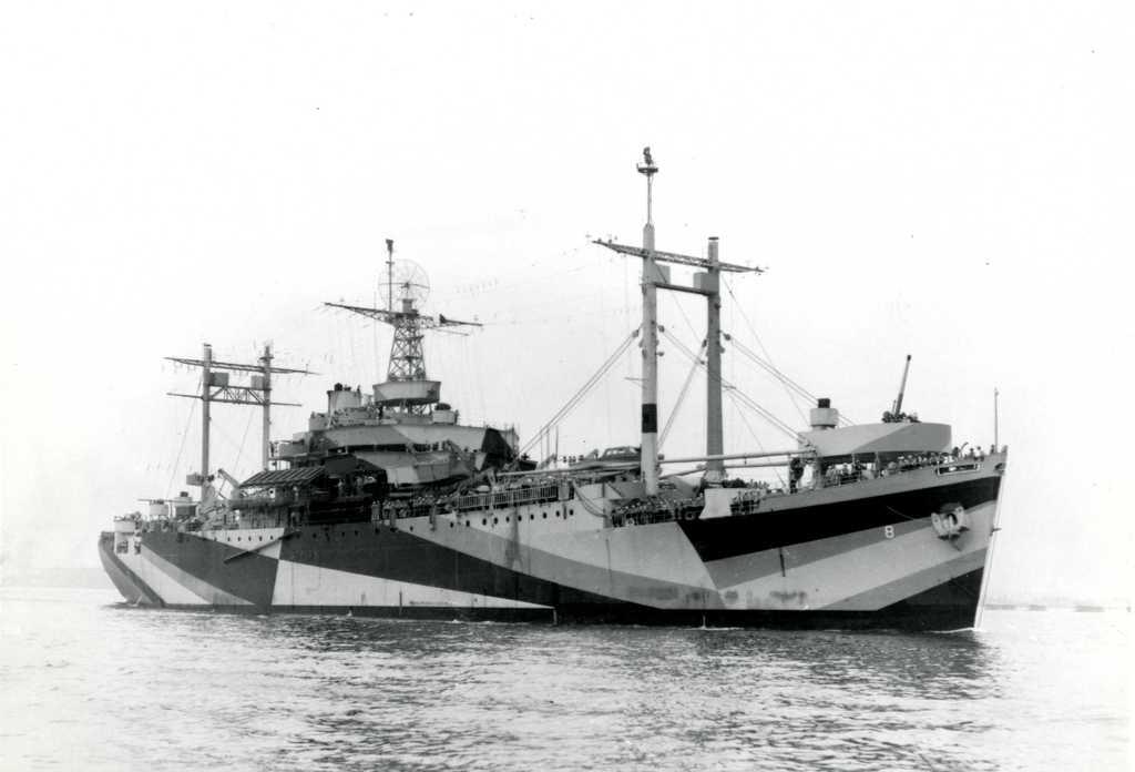 AGC-8 Communication Ship, USS Mount Olympus