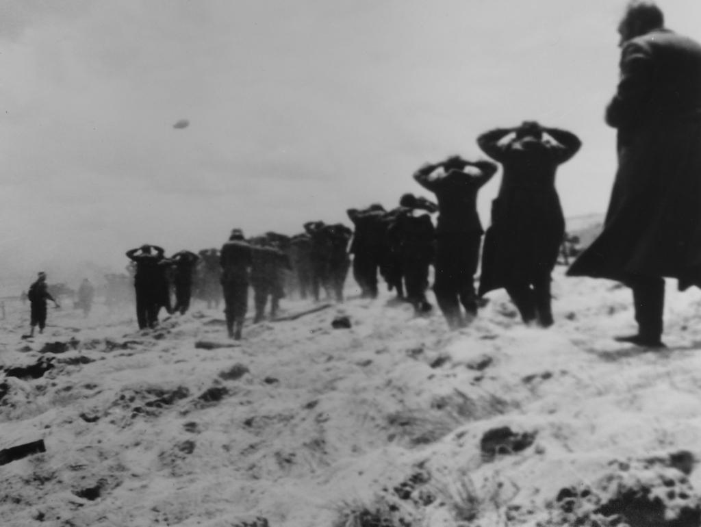 Photograph of German Prisoners