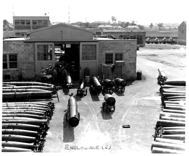 View of Torpedo Shack No. 2786, at the Naval Air Station at Squantum, Massachusetts