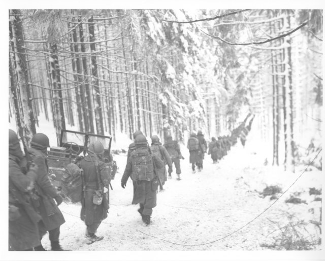 Photograph of American Soldiers of the 75th Division
