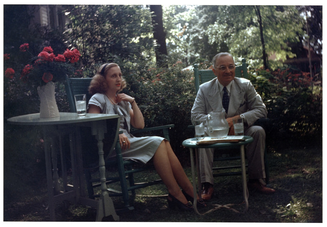 President Harry S. Truman and Margaret Truman