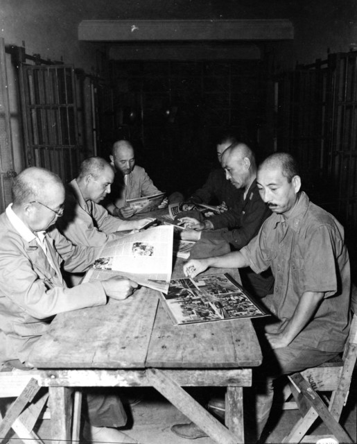 Six High-Ranking Japanese Generals and Admirals Who Surrendered at Cabe