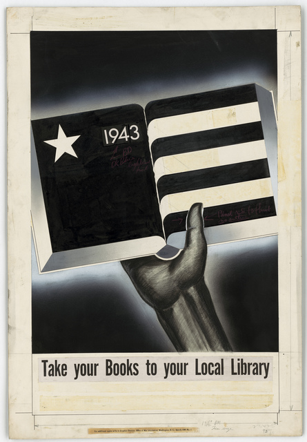 1943.  Take your Books to your Local Library.