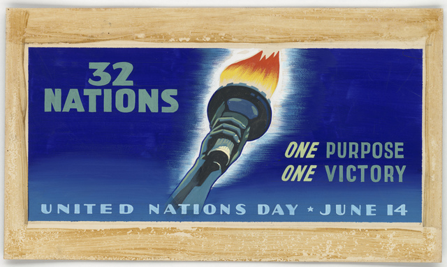 32 Nations.  One Purpose.  One Victory.  United Nations Day - June 14 [Jan Clausing, Bill Schneider]