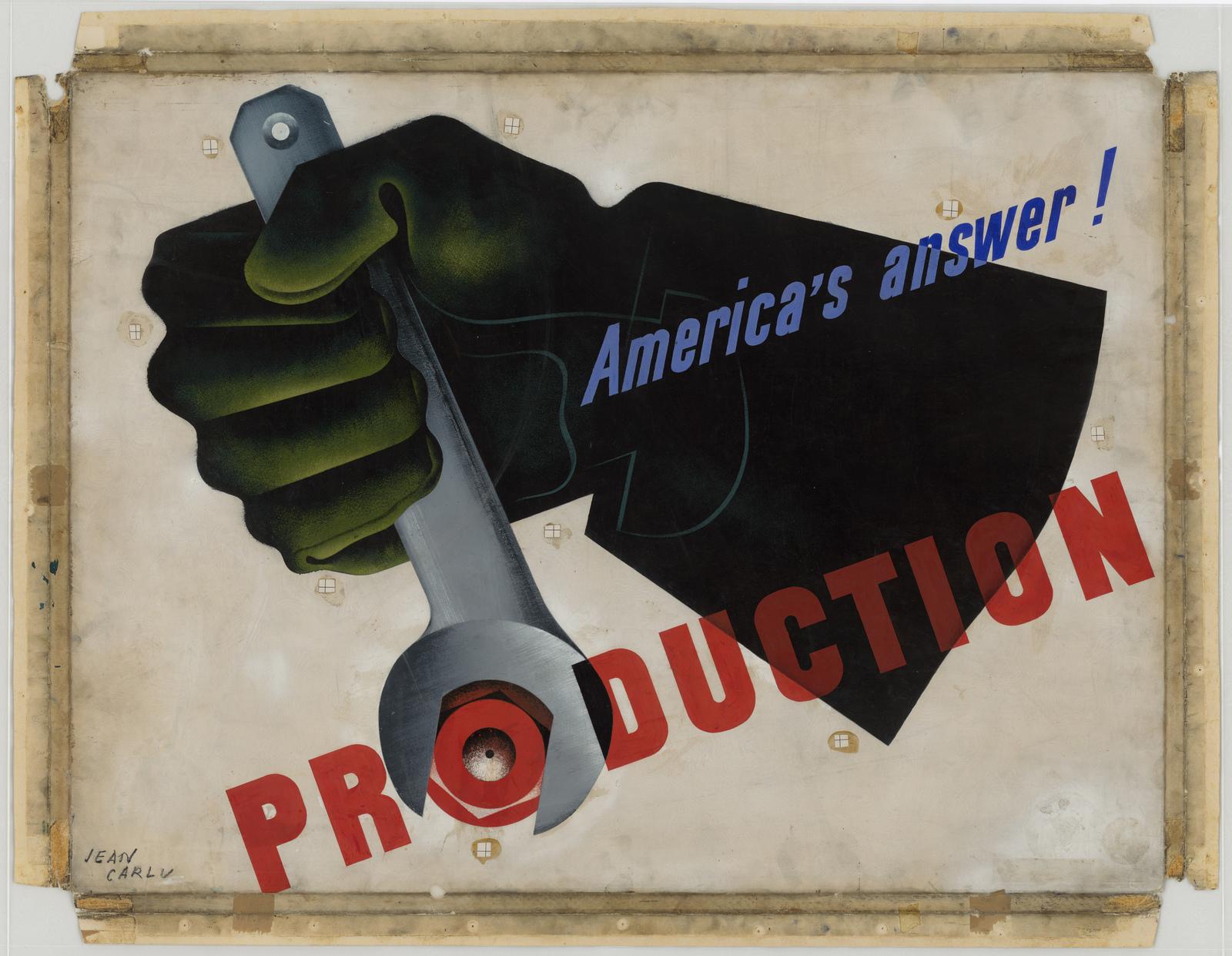 America's answer!  PRODUCTION [Jean Carlu]