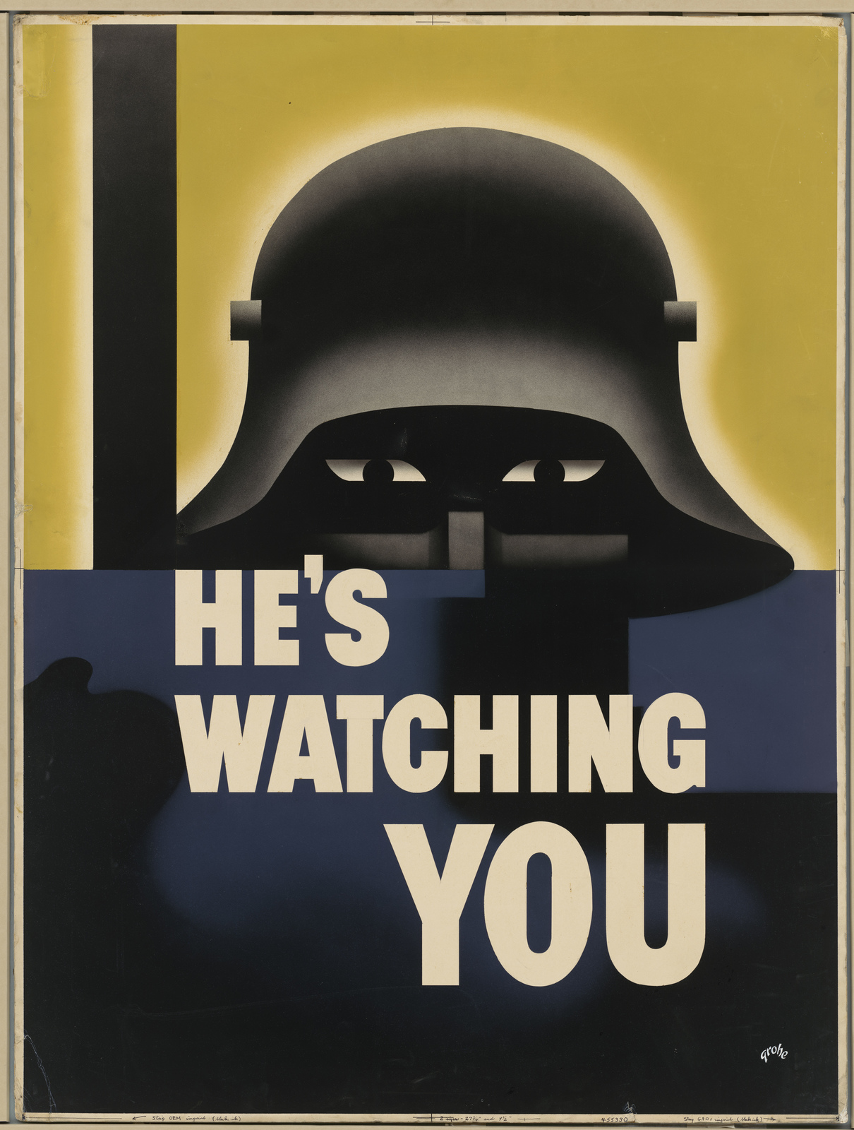 HE'S WATCHING YOU [Glenn Ernest Grohe]
