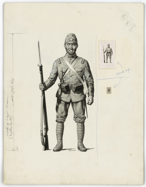 [Japanese soldier] [Rodevald]