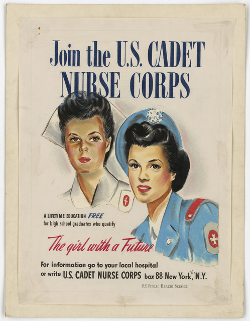 Join the U.S. Cadet Nurse Corps