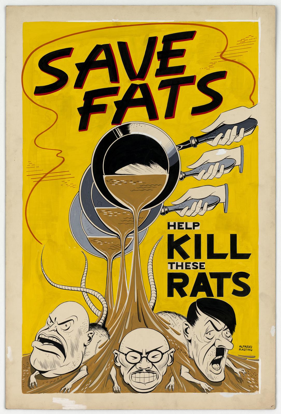 Save Fats Help KILL These Rats [Alfredo Plastino]