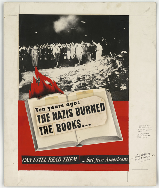 Ten years ago: The Nazis Burned the Books... But Free Americans Can Still Read Them