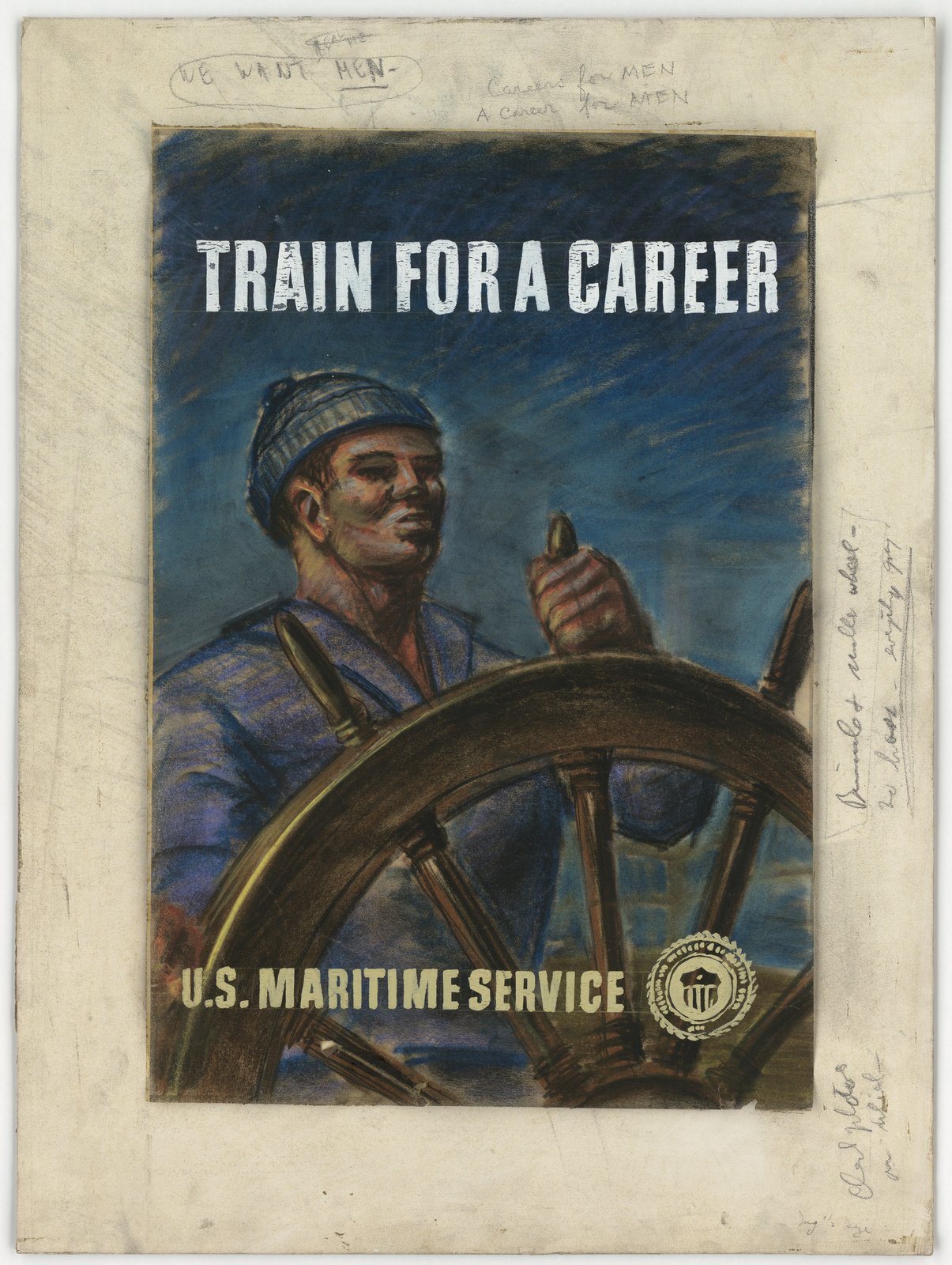 Train For A Career.  U.S. Maritime Service