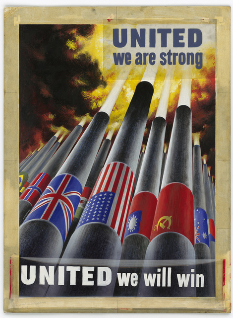 UNITED We Are Strong.  United We Will Win.  OWI Poster No. 64. [Koerner]