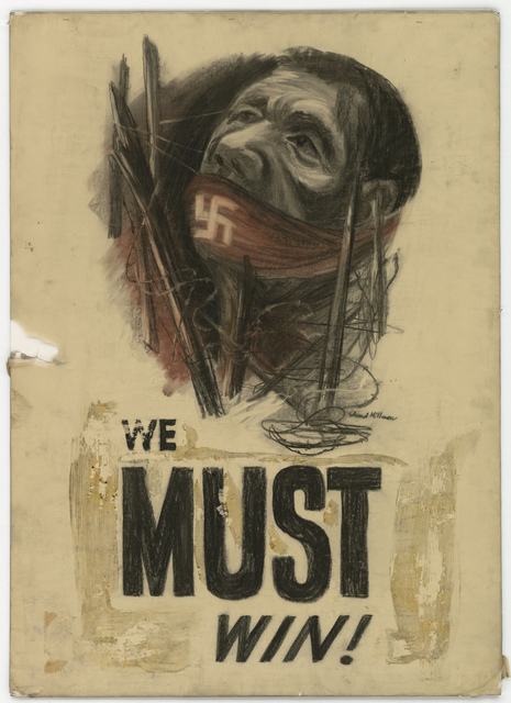 We MUST Win! (Information on back: Not Used) [Edward Millman]