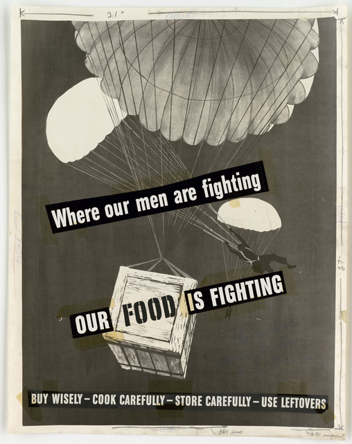Where are men are Fighting.  Our Food Is Fighting.  Buy Wisely - Cook carefully - Store carefully - use leftovers