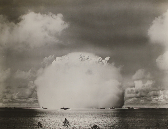 Atomic Cloud from the Able Day Explosion over Bikini Lagoon